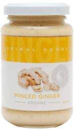 Minced Ginger (210g) - Spiral